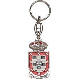 Llavero metálico serie escudos heráldicos
