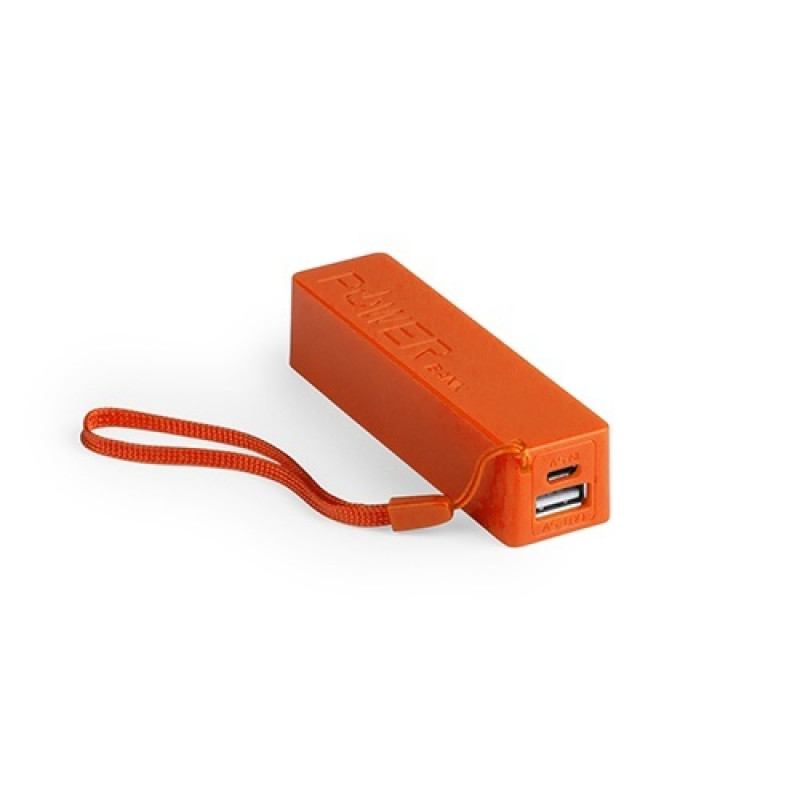 batería power bank keox naranja