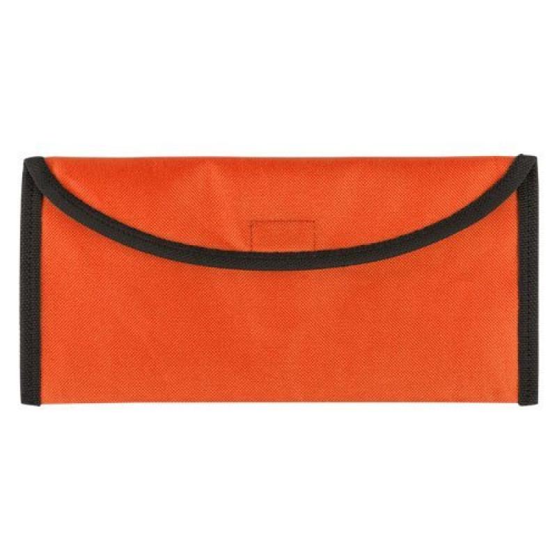 Portadocumentos viaje naranja