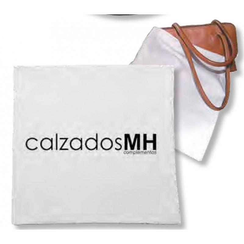 Práctica Funda para bolsos cierre cordón en tamaño 36x36 cm reutilizable y personalizable.
