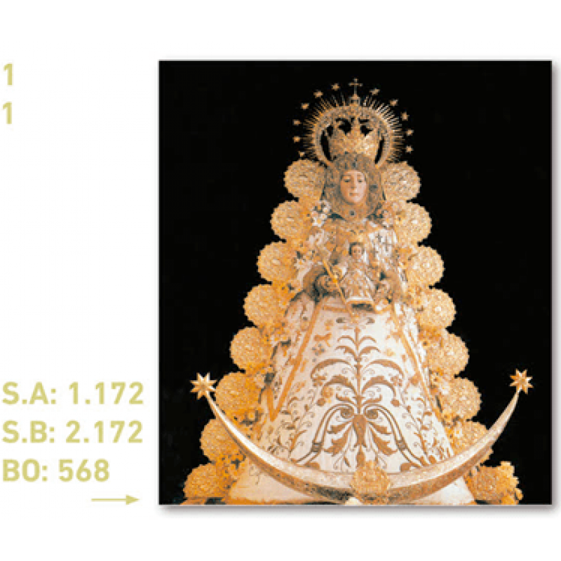 calendario virgen del rocío