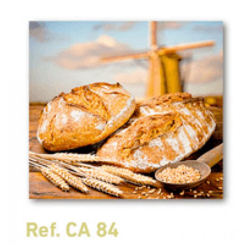 Calendario con imán para nevera bodegón de pan