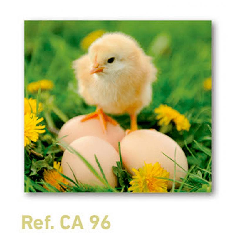 Calendario con imán para nevera pollito