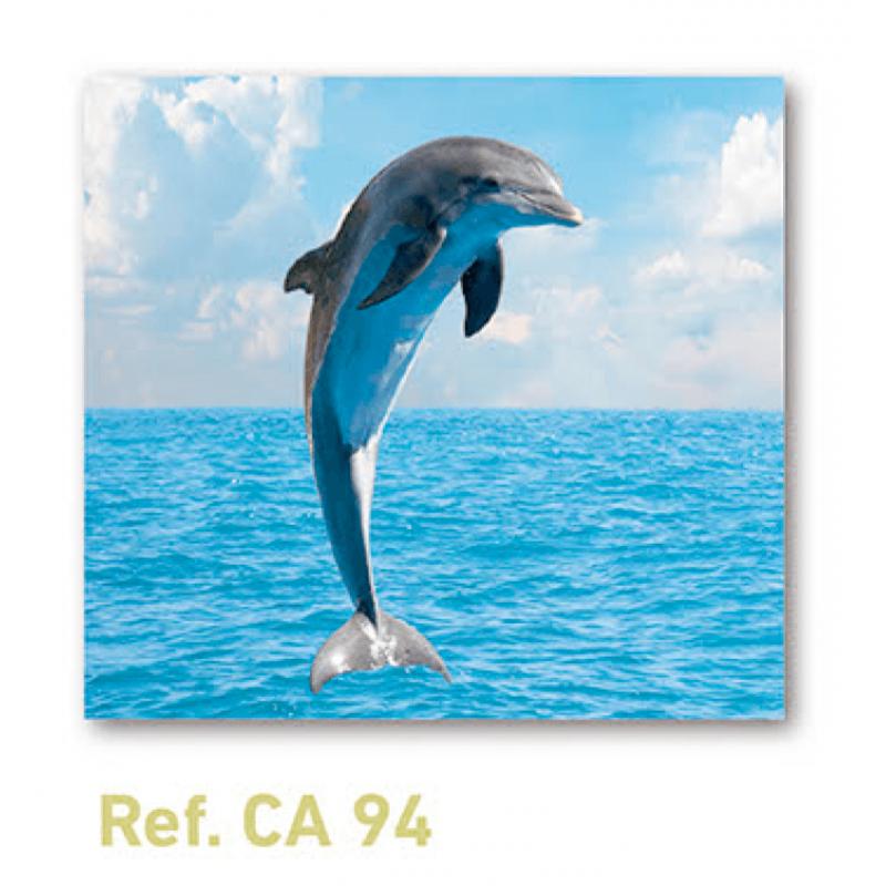 Calendario con imán para nevera delfín
