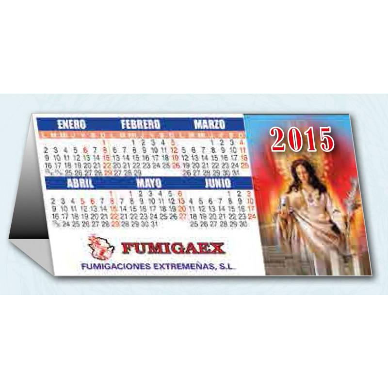 Calendario de sobremesa triangular 2015 publicidad exclusiva de su empresa