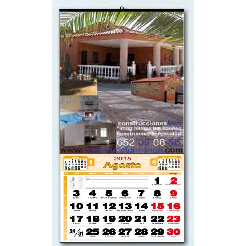 calendario de pared exclusivo 43 cm