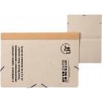 Carpeta gomillas cartón reciclado natural