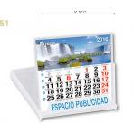 Calendario Sobremesa mensual CD 10X10