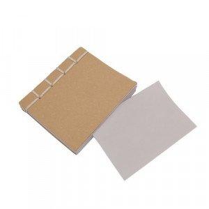 Bloc de notas Branchi.Portadas en Cartón reciclado.100 hojas