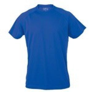 Camiseta Manga Corta 100% Poliester.Transpirable