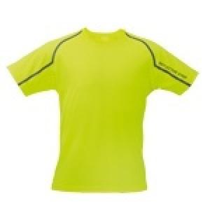 Camiseta fleser Manga Corta 100% Poliester.Transpirable
