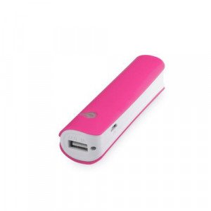 cargador power bank hicer fucsia