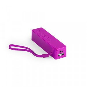 batería power bank keox fucsia