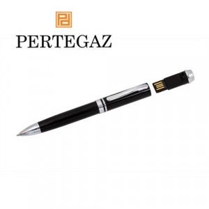 Bolígrafo metálico usb filio 4 Gb, marca Pertegaz.