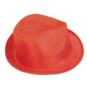 sombrero poliester con cinta publicitaria S-15