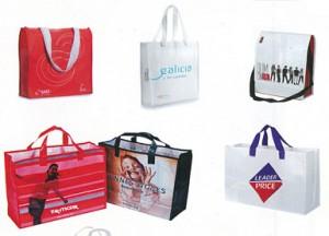 Gran variedad de formatos de bolsa publicitaria