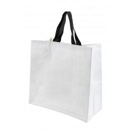 Bolsa supermercado rafia blanca 40x40x20