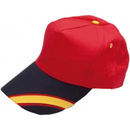 Gorra visera bandera de España