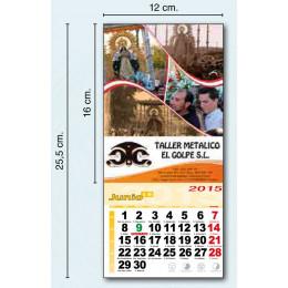 Calendario con imán para nevera