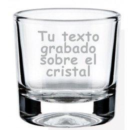 Vaso cristal para chupito