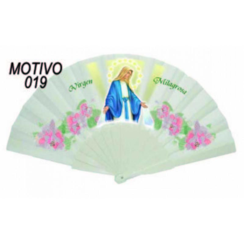 Abanico Virgen Milagrosa
