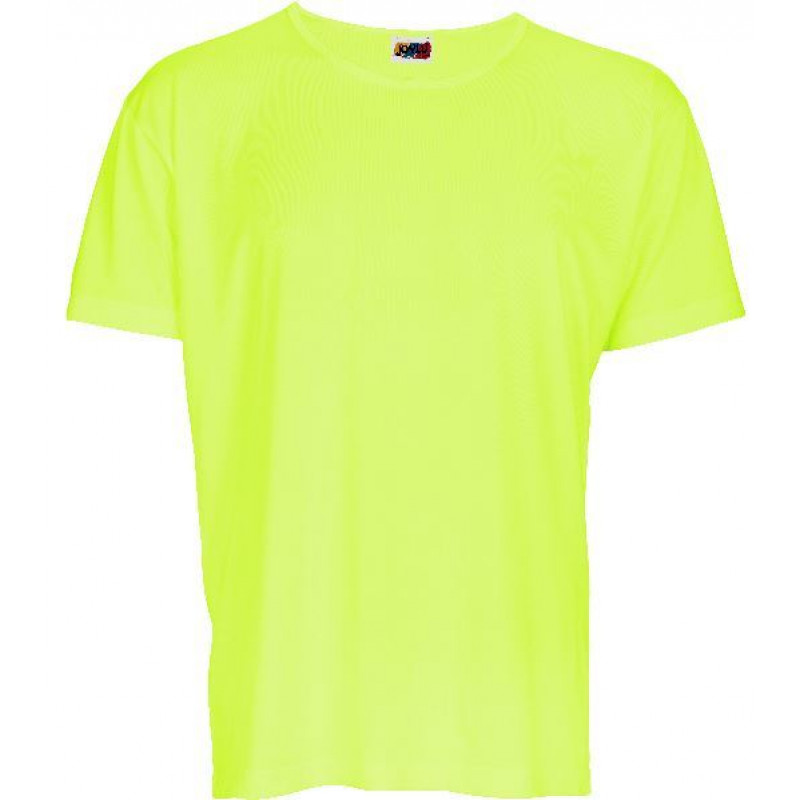Camiseta niño Manga Corta 100% Poliester.Tejido: Punto liso