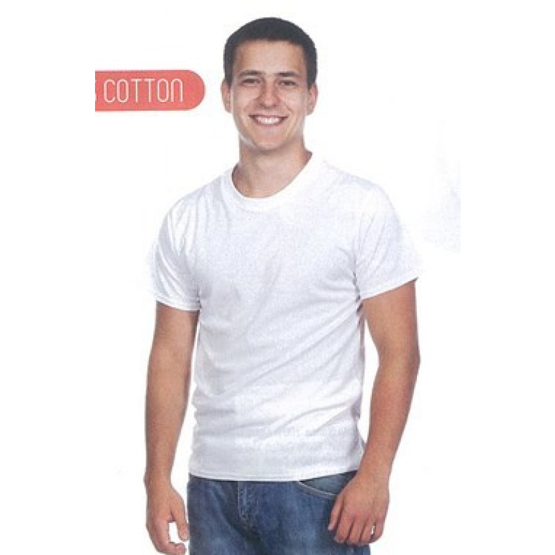 Camiseta Hecom 100% Algodón.Gramaje: 135 grs.