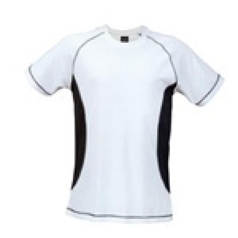Camiseta combi Manga Corta 100% Poliester.Transpirable
