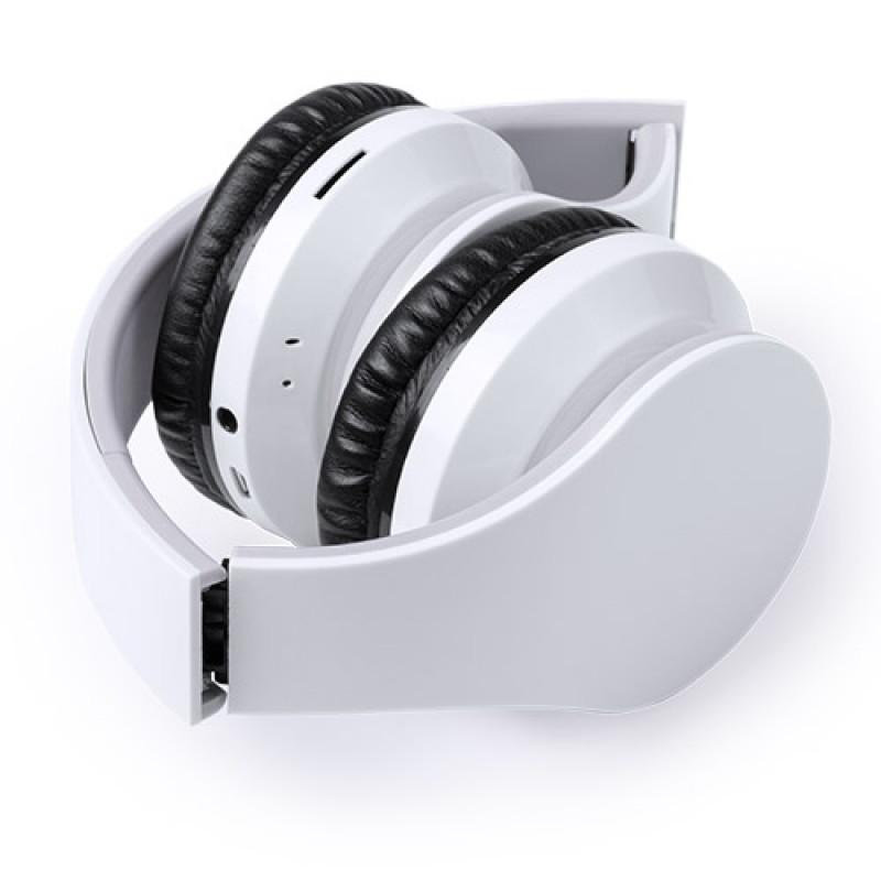 Auriculares publicitarios bluetooth blanco