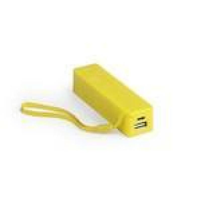 batería power bank keox amarilla