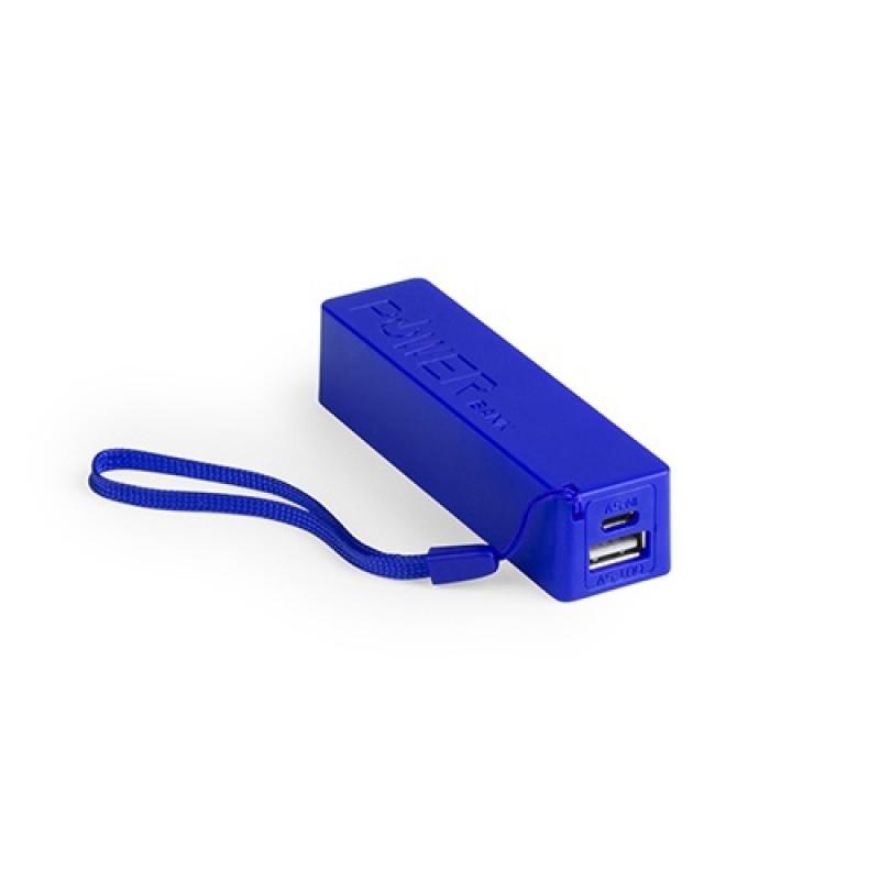 batería power bank keox azul