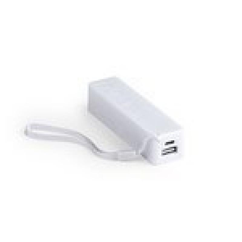 batería power bank keox blanca