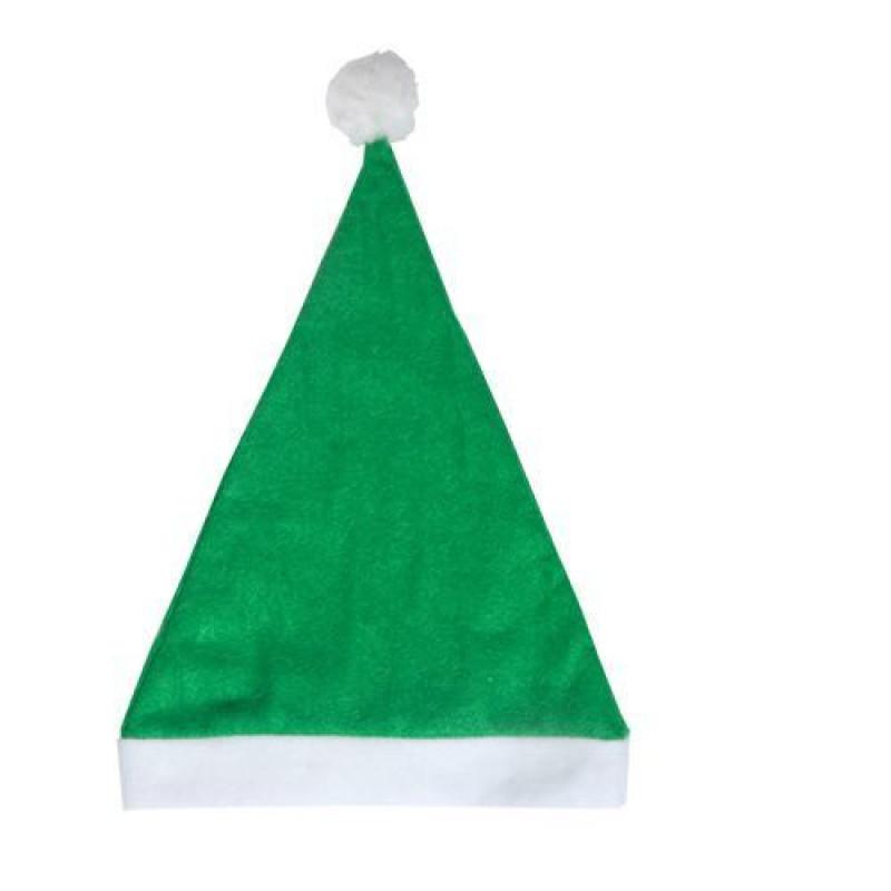 Gorro Papá Noel verde