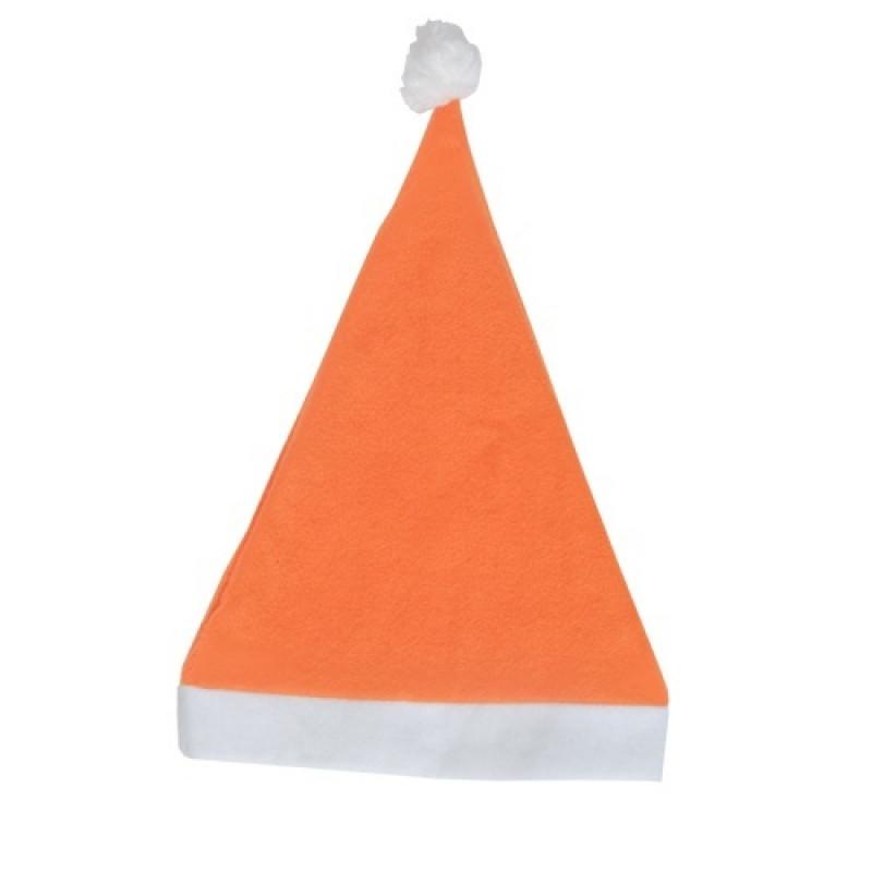 Gorro Papá Noel naranja