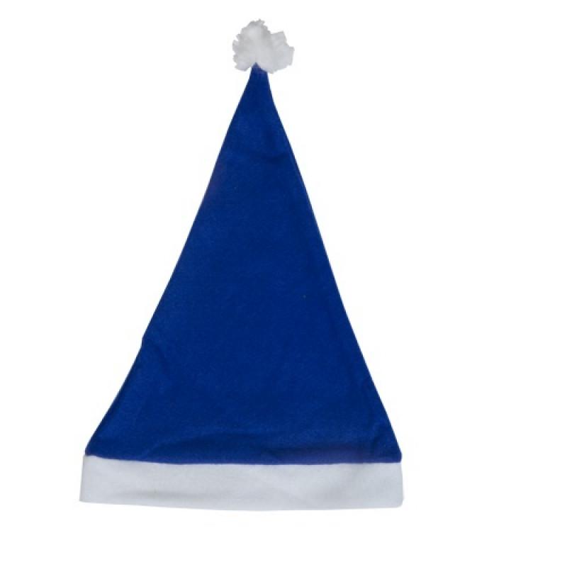 Gorro Papé Noel Azul