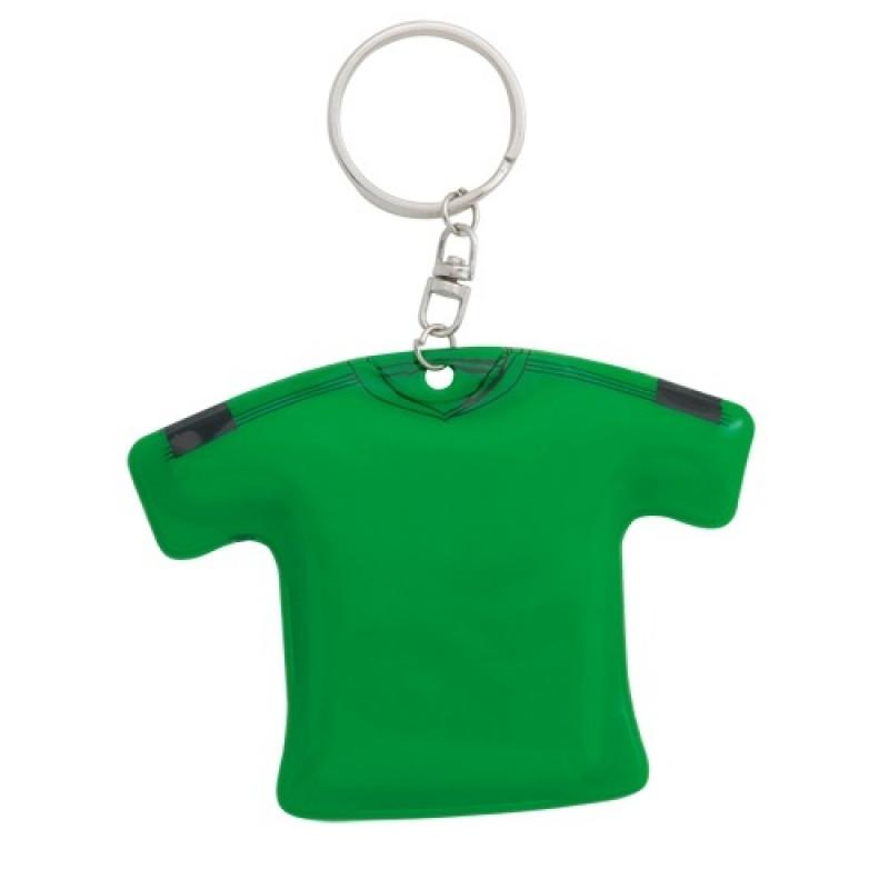 Llavero camiseta de PVC