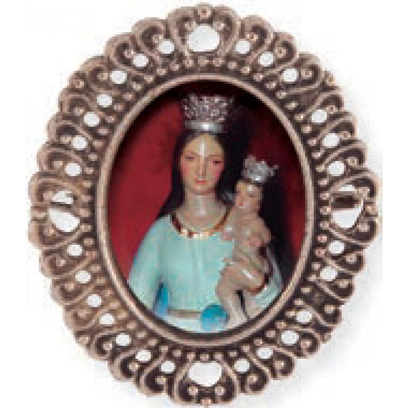 Medalla con fotografia para cofradías