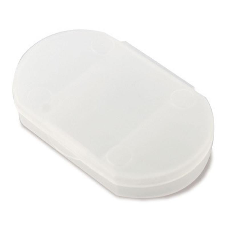 pastillero de bolsillo barato blanco