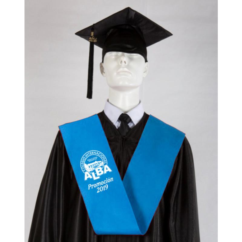 banda graduación serigrafiada