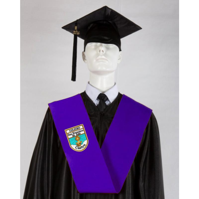 Beca Graduación bordada para colegios