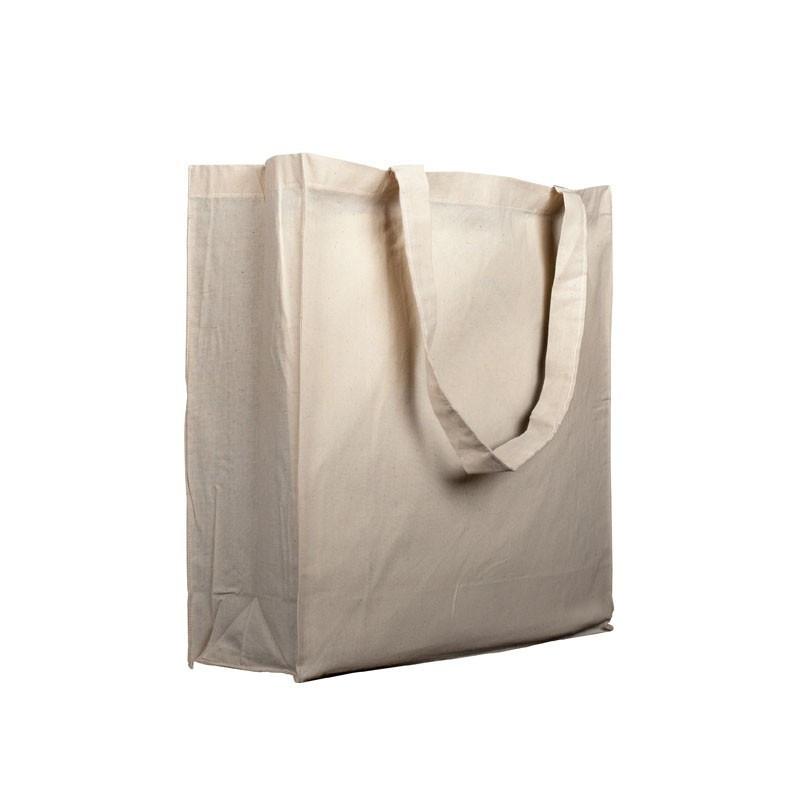 Bolsa algodón 280 grs. 37x42x13 cm