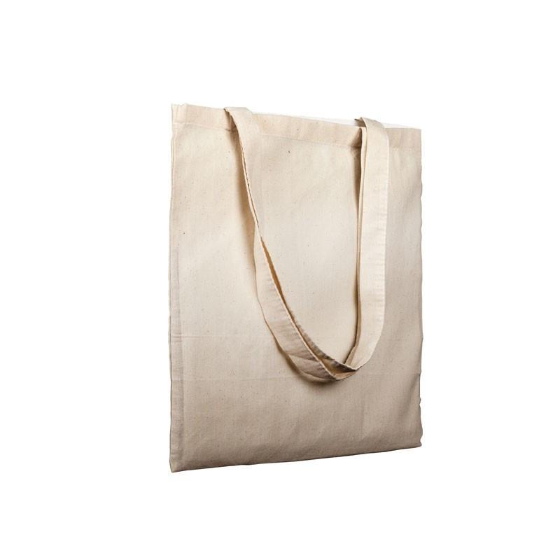 bolsa algodon 160 grs. 38x42 cm asas largas