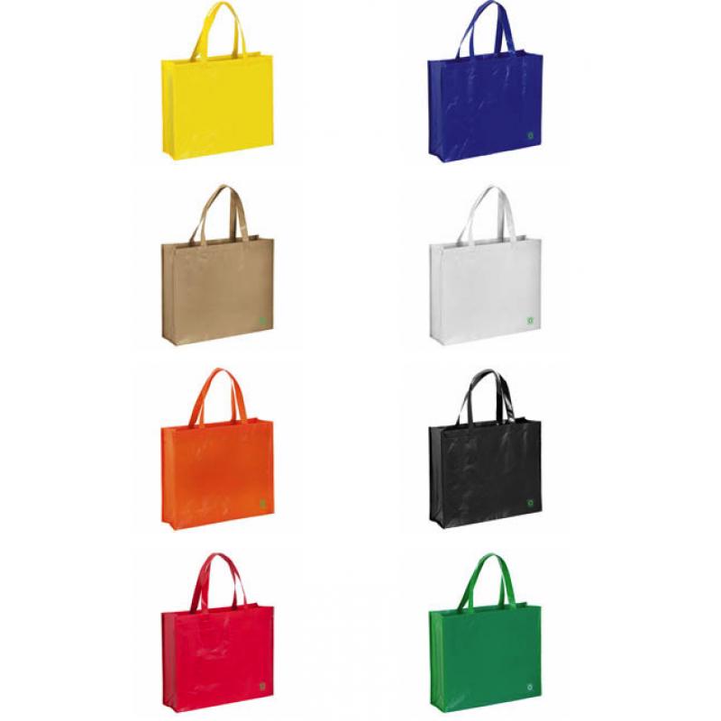 colores bolsa reciclable ancha 40x35x13