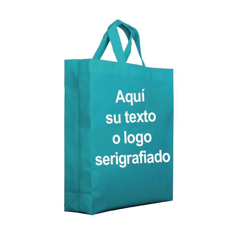 bolsa para comercios reutilizable 3 tamaños