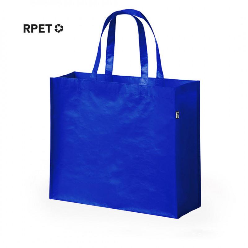 bolsa reciclada RPET azul