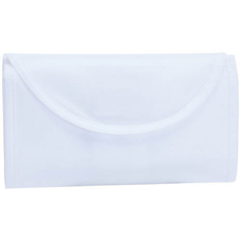 bolsa plegable blanca 38x42