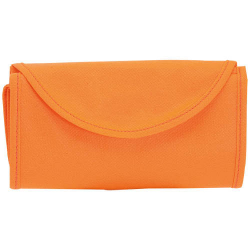 bolsa plegable naranja 38x42
