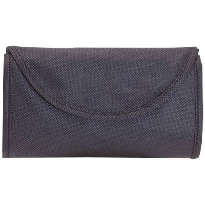 bolsa plegable negra 38x42
