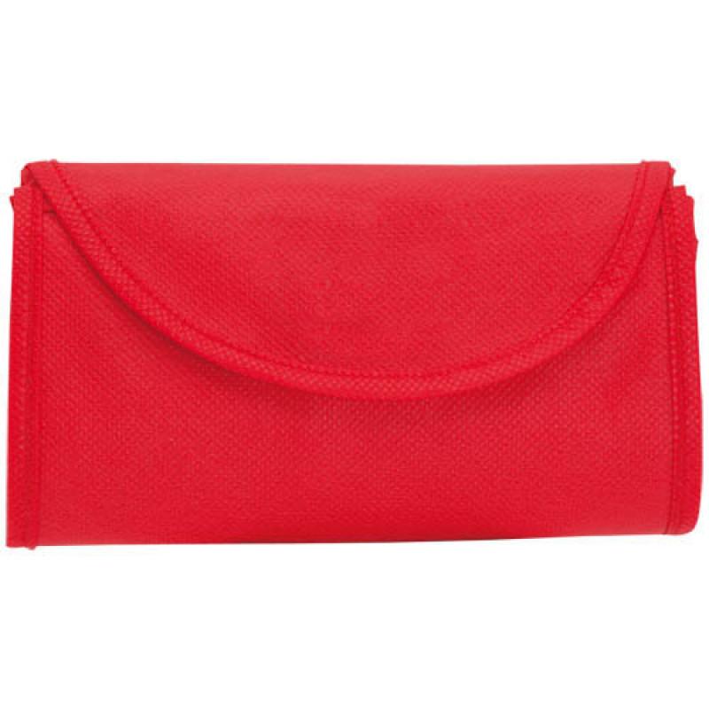 bolsa plegable roja 38x42