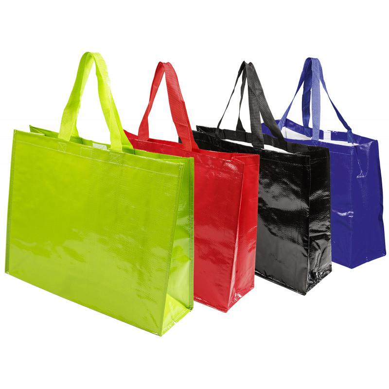 bolsa rafia para supermercado cierre velcro mediana